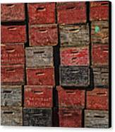 Apple Crates Canvas Print by Garry Gay