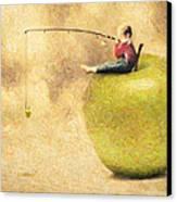 Apple Dream Canvas Print by Taylan Apukovska