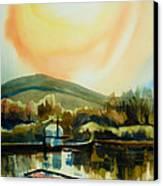 Approaching Dusk Ib Canvas Print by Kip DeVore