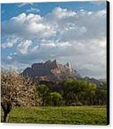 April Showers And New Green Of Spring Rockville Utah Canvas Print by Robert Ford