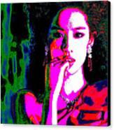 Aradhana Punyavarman Istri Devi Kaushalya Canvas Print by Ricky Nathaniel