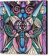 Arcturian Healing Lattice  Canvas Print by Teal Eye  Print Store