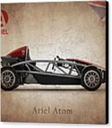 Ariel Atom Canvas Print by Mark Rogan