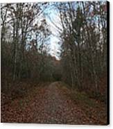 Around The Bend Canvas Print by Neal  Eslinger