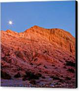 Arroyo Moonrise Canvas Print by Peter Tellone