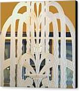 Art Deco Window Canvas Print by Diane Wood