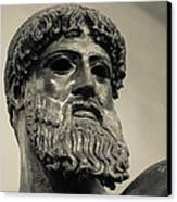 Artemision Zeus Canvas Print by David Waldo