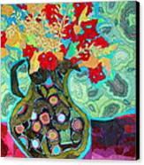 Artful Jug Canvas Print by Diane Fine