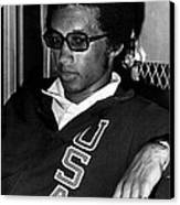 Arthur Ashe With Sunglasses Canvas Print by Retro Images Archive