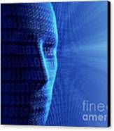Artificial Intelligence Canvas Print by Johan Swanepoel