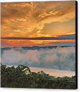 As Morning Breaks Canvas Print by Steven Ainsworth