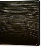 Assateague Star Trails Canvas Print by Benjamin Reed