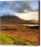 Astonishing Beauty Of Loch Tulla Canvas Print by Mark E Tisdale