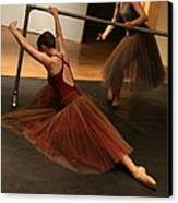 At The Barre Canvas Print by Kate Purdy