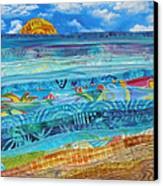 At The Water's Edge Canvas Print by Susan Rienzo