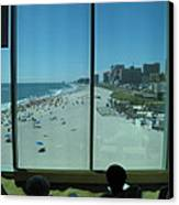 Atlantic City - 12124 Canvas Print by DC Photographer