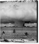 Atomic Bomb Test Canvas Print by Mountain Dreams