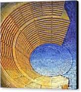 Auditorium Canvas Print by Mark Howard Jones