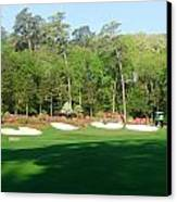 Augusta National - Amen Corner Canvas Print by Bo  Watson