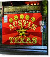 Austin Hdr 006 Canvas Print by Lance Vaughn