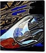Auto Headlight 113 Canvas Print by Sarah Loft