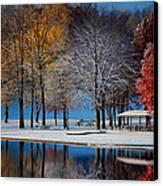 Autumn Blues Canvas Print by Rob Blair