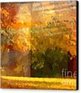 Autumn Colors Painterly Canvas Print by Lutz Baar