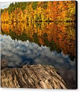 Autumn Day Canvas Print by Karol Livote