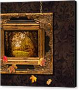 Autumn Frame Canvas Print by Amanda And Christopher Elwell
