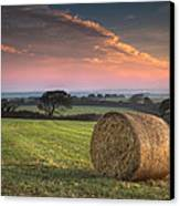 Autumn In Cornwall Canvas Print by Christine Smart