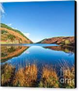 Autumn Lake Canvas Print by Adrian Evans