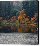 Autumn On The Umpqua Canvas Print by Suzy Piatt