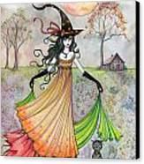 Autumn Reverie Canvas Print by Molly Harrison