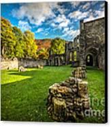 Autumn Ruins Canvas Print by Adrian Evans