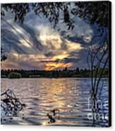 Autumn Sky Canvas Print by Stelios Kleanthous