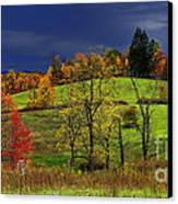 Autumn Storm Canvas Print by Thomas R Fletcher