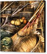 Autumn - This Years Harvest Canvas Print by Mike Savad