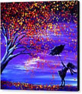 Autumn Wind Canvas Print by Ann Marie Bone