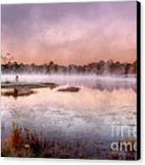 Autumns Light Canvas Print by Darren Fisher