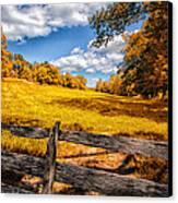 Autumns Pasture Canvas Print by Bob Orsillo