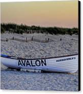 Avalon Lifeboat Canvas Print by Bill Cannon