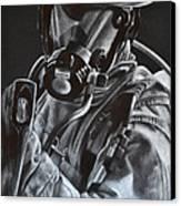 Axe Canvas Print by Jodi Monroe