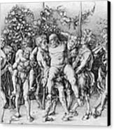 Bacchanal With Silenus - Albrecht Durer Canvas Print by Daniel Hagerman