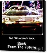 Back From The Future Canvas Print by Renee Trenholm