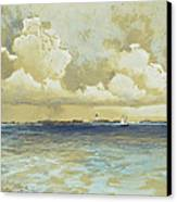 Bahama Island Light Canvas Print by Thomas Moran