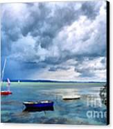 Balaton Lake Canvas Print by Odon Czintos