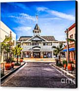 Balboa Main Street In Newport Beach Picture Canvas Print by Paul Velgos