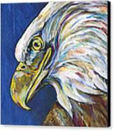 Bald Eagle Canvas Print by Lovejoy Creations
