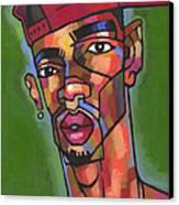 Baller Canvas Print by Douglas Simonson