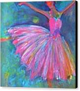 Ballet Bliss Canvas Print by Deb Magelssen
